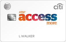 AT&T Access More Card from Citi, an AT&T credit card