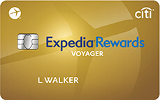 Expedia<sup>®</sup> Rewards Voyager Card by Citi