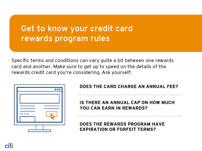Get to know your credit card rewards program rules