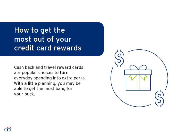 How to get the most out of your credit card reward