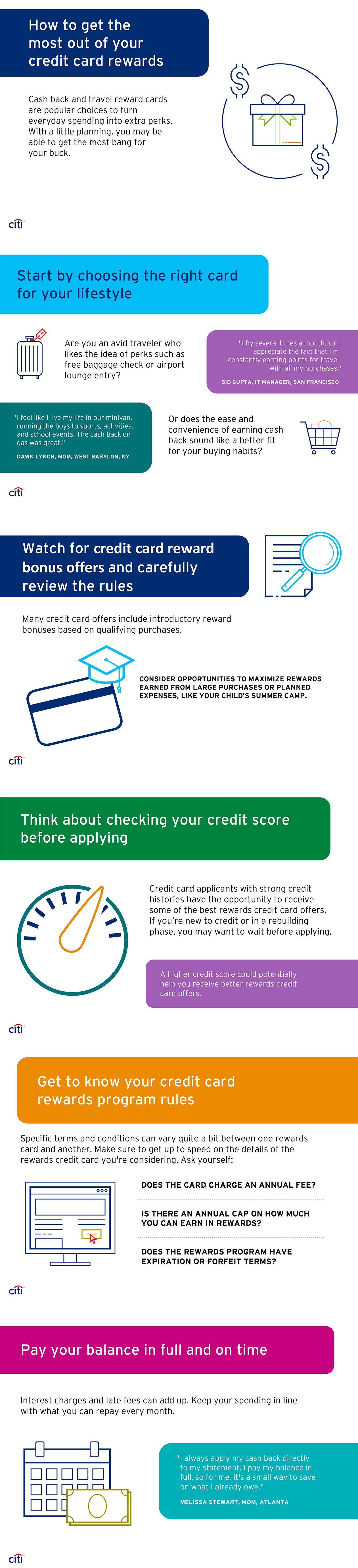 How to get the most out of your credit card rewards