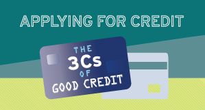 The 3 C's of Good Credit - good credit management