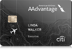 Citi® / AAdvantage® Executive Card - Get Admirals Club® Membership