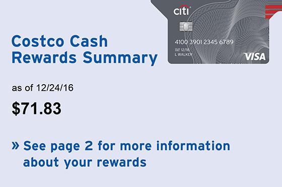 Costco Citi Card Travel Rewards