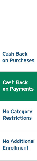 Cash Back on Payments